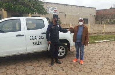 Municipalidad de Belén recupera patrullera policial