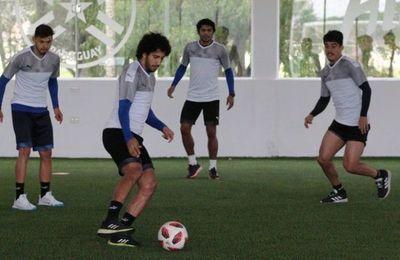 La Albirroja mantiene activos a jugadores que hacen cuarentena en Paraguay