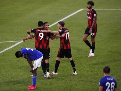 Leicester cae goleado ante el Bournemouth