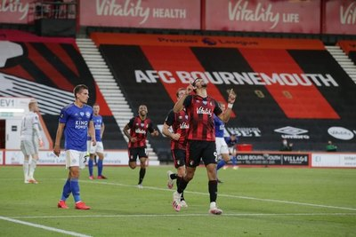 Leicester cae goleado ante el Bournemouth y no sube al podio