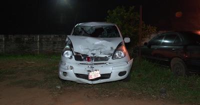 Motociclista se salvó de milagro tras accidente en Itauguá