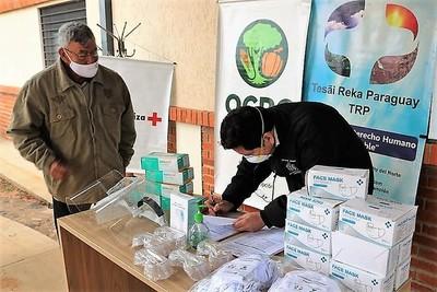 Casos de coronavirus en el norte motivan donación de insumos vitales para evitar más contagios