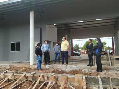 Minga Guazú: Obras de la Terminal de Ómnibus a punto de culminar