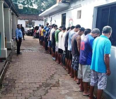 Detenidos están hacinados en comisaría en plena emergencia en Luque • Luque Noticias
