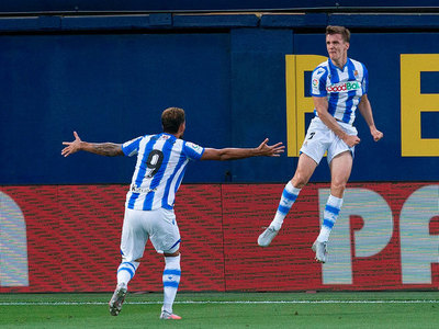 Los goles: Villarreal 1