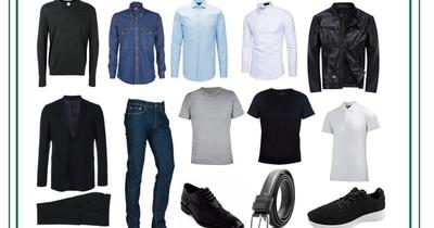 Básicas del guardarropas para hombres