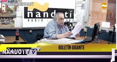 Don Humberto Rubin vuelve a la radio tras su operación y deleita a su audiencia con un poema » Ñanduti
