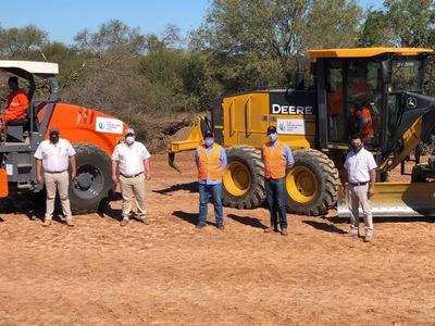 Joven empresa paraguaya se encargó de las obras en la Ruta PY 09 Lote 5