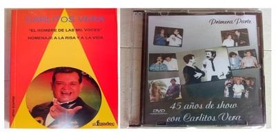 Familia de Carlitos Vera ofrece DVDs y libro autobiográfico del humorista