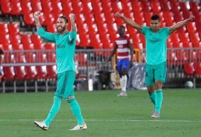 Real Madrid vence a Granada y queda a un paso de ganar la liga española