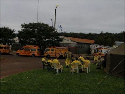 Bomberos amarillos de nuevo a la calle en Encarnación