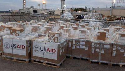 Covid-19: Llegan al país los primeros 50 respiradores donados por EEUU