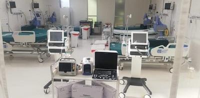 Habilitan más camas de Terapia Intensiva en Hospital San Pablo.