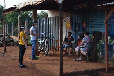 Voluntarios de Techo inician encuestas en asentamientos