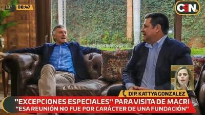 Diputada solicitará informes sobre visita de Macri