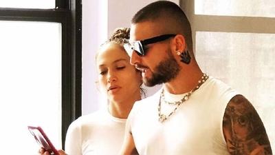 HOY / Jennifer López y Maluma preparan música nueva juntos