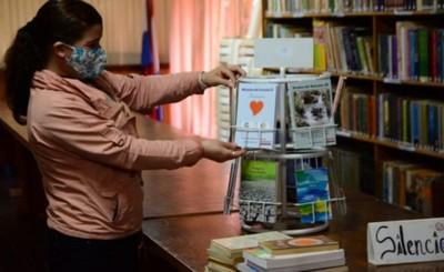 Biblioteca Municipal de CDE recibe donación de gran cantidad de libros