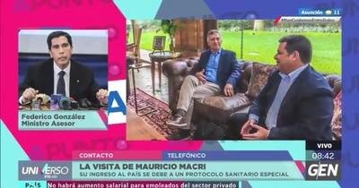 Federico González reitera pertinencia de instructivo de ingreso temporal al país