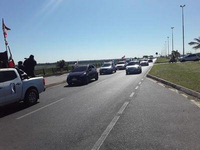 Funcionarios de Copaco se manifiestan contra proyecto de expropiación