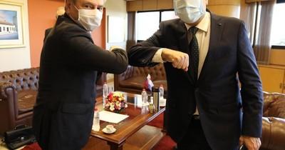 Embajadores de Rusia y Argentina se reúnen con la directiva del Senado