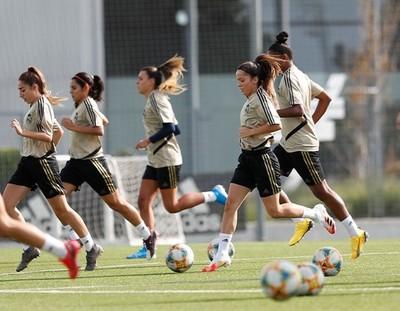 El Real Madrid femenino entrena por primera vez