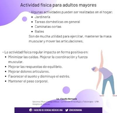 Actividad física en adultos mayores influye de manera positiva en el estado de ánimo