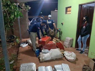 Incautan alrededor de 739 kilos de marihuana en Pedro Juan Caballero
