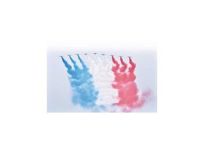 Embajada francesa transmite optimismo en fiesta patria