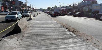 MOPC volverá a asfaltar zona del fallido metrobús