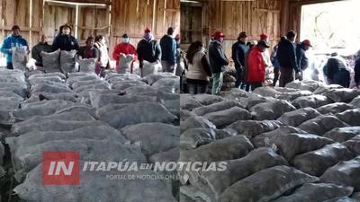 CONTINÚAN CAPACITACIONES EN EL MARCO DEL PLAN DEPARTAMENTAL DE PAPA.