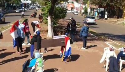 Movilizados piden intervención municipal