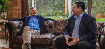 Visita de Macri cumplió con el protocolo, según Mario Abdo Benítez