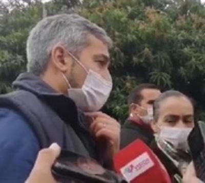 Mario Abdo ratica apoyo a Petta y Mazzoleni