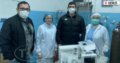 Entregan equipos al Hospital Pediátrico de Encarnación