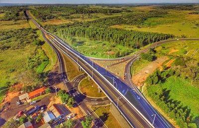 """Culminó viaducto del encarecido """"mantenimiento"""" de la ruta PY03"""