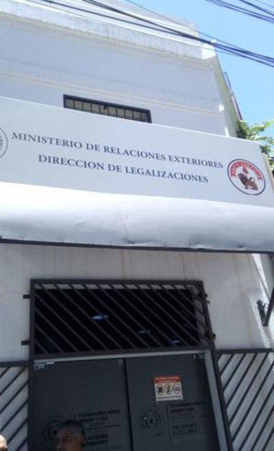 Desde el 17 de julio habilitan oficinas de legalizaciones del Ministerio de Relaciones exteriores