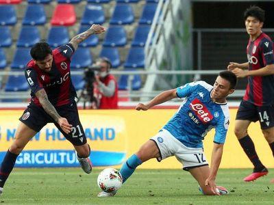Napoli no pasa del empate ante el Bologna de Federico Santander