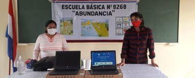 MEC entregó notebooks a pueblos indígenas, pero no tienen internet