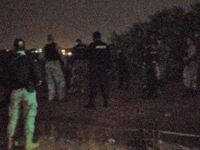 Feroz balacera entre militares y contrabandistas en Ciudad del Este deja un herido grave