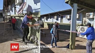 VOLUNTARIOS PINTAN EL HOSPITAL REGIONAL DE ENCARNACIÓN