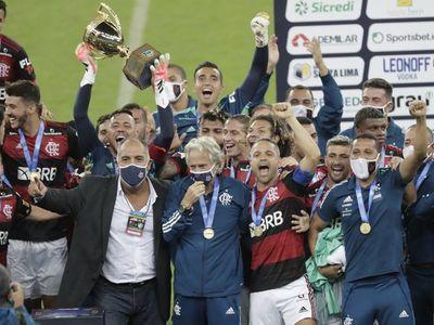 Flamengo vence de nuevo al Fluminense y se corona campeón carioca