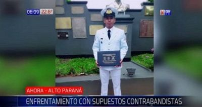 Tiroteo entre militares y delincuentes deja un marino herido en Alto Paraná