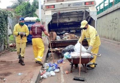 Higiene: los capitalinos producen menos basura durante la cuarentena