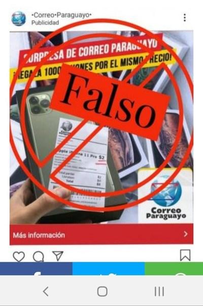 Alertan Sobre Publicidad Falsa
