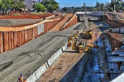 Multiviaducto: 50 % de la obra ya está concluida