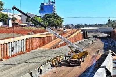CDE: Multiviaducto del km 7 tiene un avance del 50 %, informan