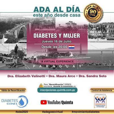 """Invitan a seminario sobre """"diabetes y mujer"""""""