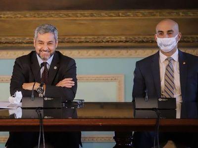 Abdo afirma que hay reconocimiento internacional por las medidas tomadas contra el COVID-19
