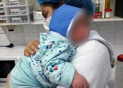 Nació bebé con más de 6 kilos en el Hospital Regional de Encarnación