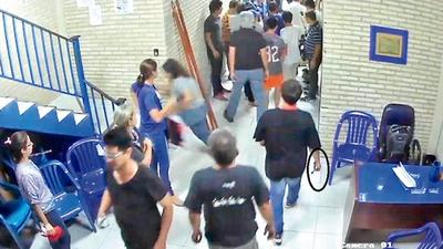 El video nunca visto: reveladoras imágenes de alteración de la escena del crimen